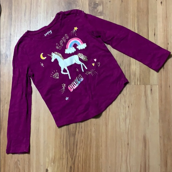 Jumping Beans unicorn top